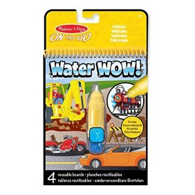 Water Wow: album da colorare con penna ad acqua di Melissa & Doug