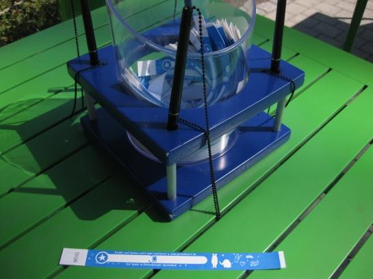 Parco divertimenti Ravensburger: braccialetti ritrova bimbo