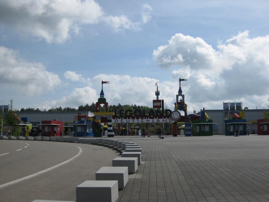 Parco divertimenti di Legoland a Guenzburg: ingresso