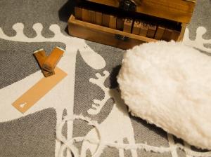 Materiale per pon pon fiocco di neve