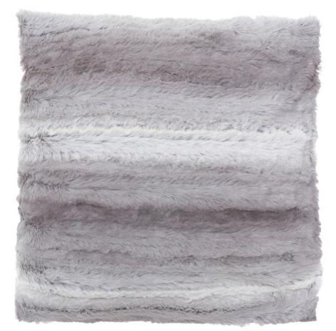Cuscino in tessuto effetto pelo