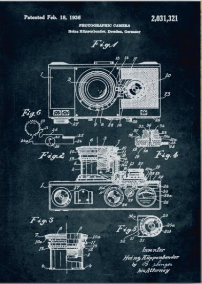 Brevetto macchina fotografica