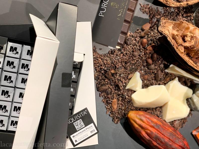 Cacao prima e dopo la lavorazione