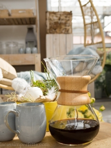 Caffè con metodo Chemex