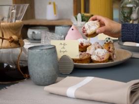 Furto di uno dei soffici muffin alla fragola di Antonella