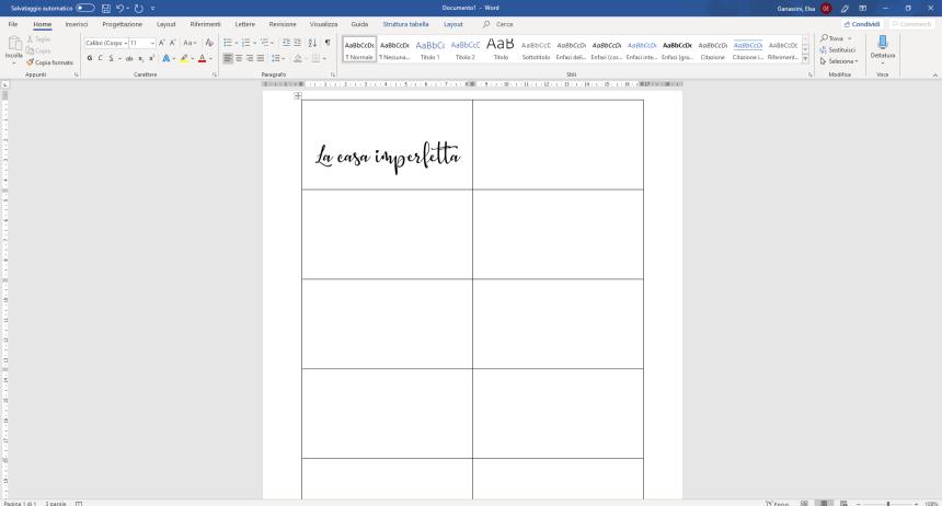 Creazione tag con font in stile hand writing