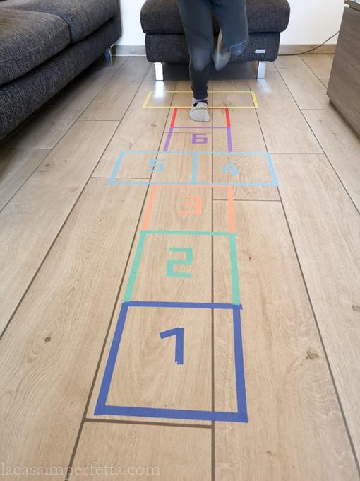Campana: il gioco rifatti in casa con washi tape