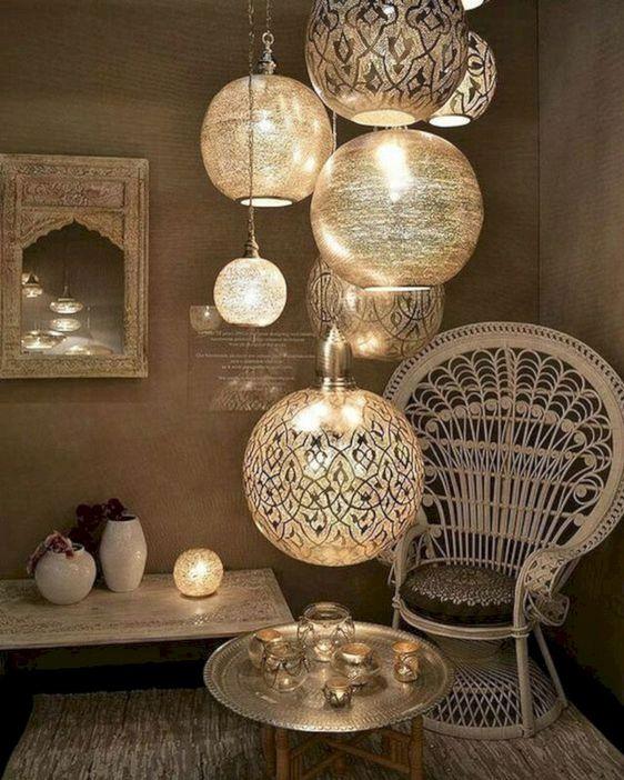 Specchio decorativo stile marocchino